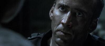 Nicholas Cage in The Rock