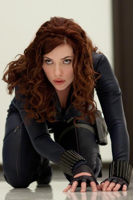 Iron Man 2 mit Scarlett Johansson