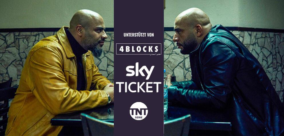 Latif und Abbas in 4 Blocks Staffel 3