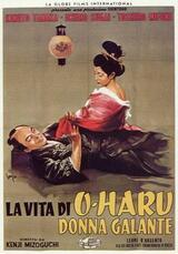 Das Leben der Frau Oharu - Poster