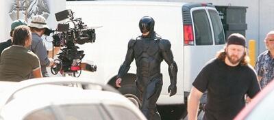 Der Robocop kommt in schwarz