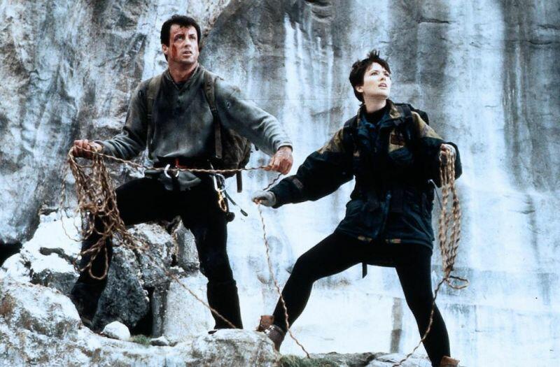 Cliffhanger - Nur die Starken überleben mit Sylvester Stallone und Janine Turner