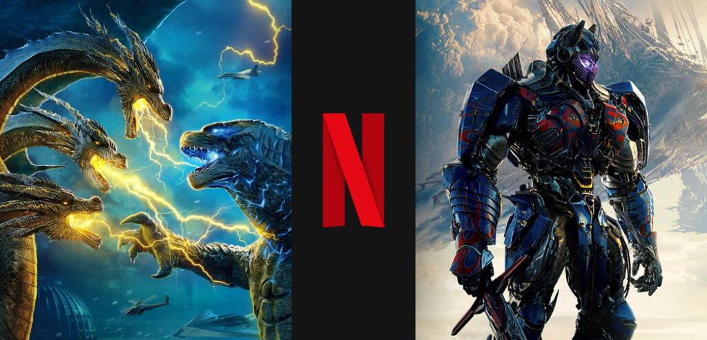 Godzilla 2 und Transformers 5 bald auf Netflix
