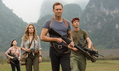 Kong: Skull Island mit Tom Hiddleston, Brie Larson und Thomas Mann - Bild 3
