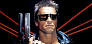 Bild zu:  Arnold Schwarzenegger als Terminator