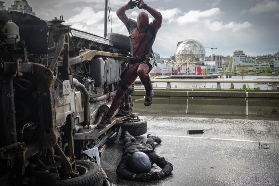 Deadpool mit Ryan Reynolds
