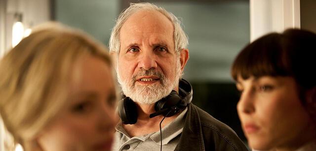 Brian de Palma am Set von Passion