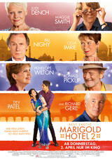 Best Exotic Marigold Hotel 2 - Poster
