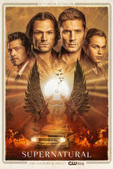 Supernatural - Staffel 15 - Poster
