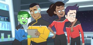 Die Hauptfiguren von  Star Trek: Lower Decks
