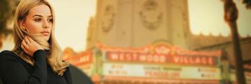 Margot Robbie vorm OUATIH-Kino