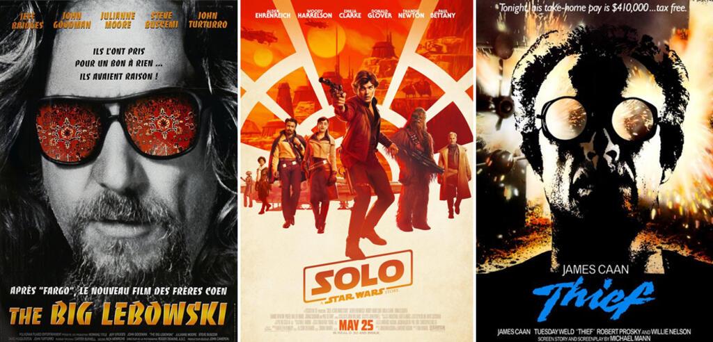 Filme, die Solo: A Star Wars Story inspiriert haben