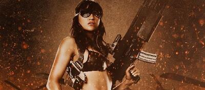 Michelle Rodríguez als Luz aka Shé in Robert Rodriguez' Machete
