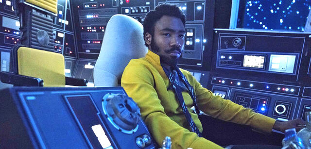 Donald Glover in Solo: A Star Wars Story