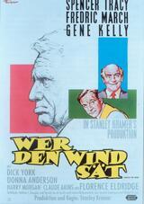 Wer den Wind sät - Poster