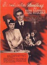 Die unheimliche Wandlung des Axel Roscher - Poster