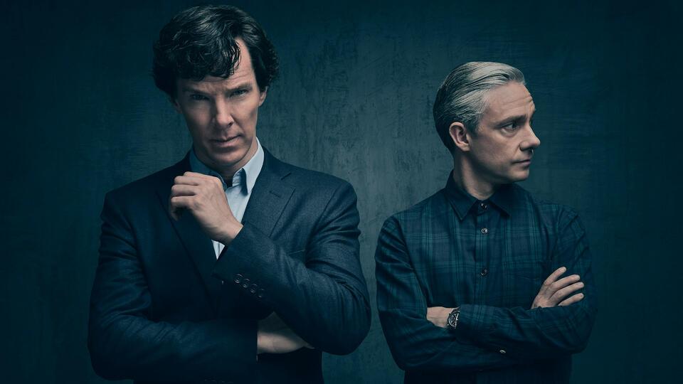 Sherlock Staffel 4 mit Benedict Cumberbatch und Martin Freeman