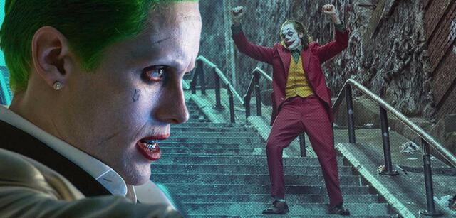 Jared Leto und Joaquin Phoenix als Joker