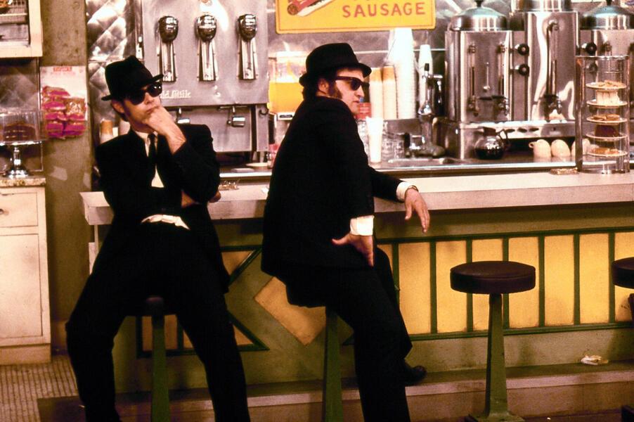 Blues Brothers mit John Belushi