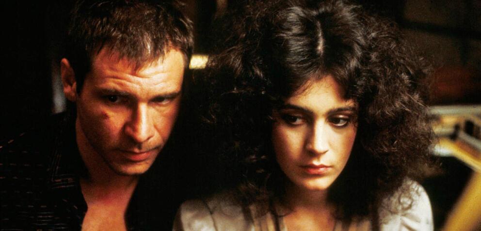 Blade Runner: Harrison Ford als Rick Deckard und Sean Young als Rachael