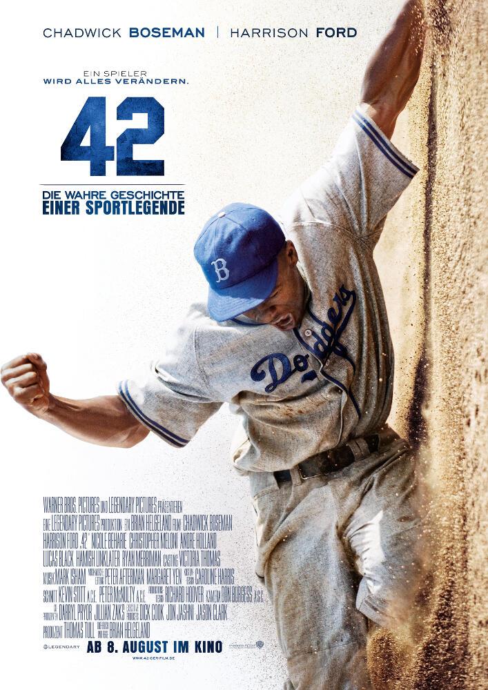 42 - Die wahre Geschichte einer Sportlegende | Film 2013 | moviepilot.de
