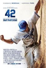 42 - Die wahre Geschichte einer Sportlegende Poster