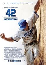 42 - Die wahre Geschichte einer Sportlegende - Poster