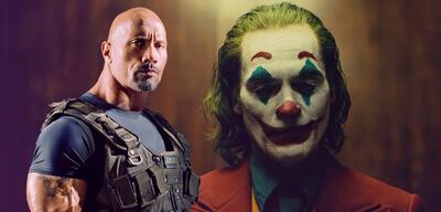 Dwayne Johnson und Joker