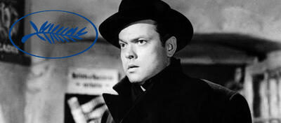 Ein kurzer Auftritt, der unvergessen bleibt: Orson Welles.