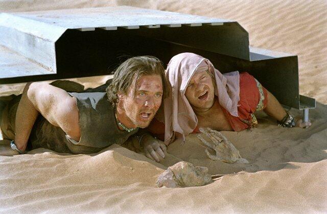 Sahara - Abenteuer in der Wüste mit Matthew McConaughey und Steve Zahn