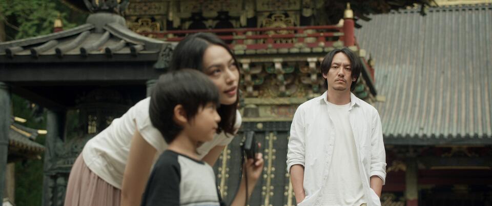 Mr. Long mit Chen Chang, Yi Ti Yao und Run-yin Bai