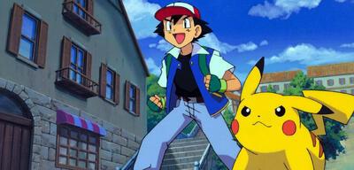 Immer gleich alt - Ash und Pikachu aus Pokémon