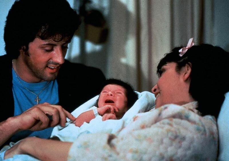 Rocky II mit Sylvester Stallone und Talia Shire