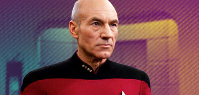 Patrick Stewart blickt als Picard neuen Herausforderungen entgegen