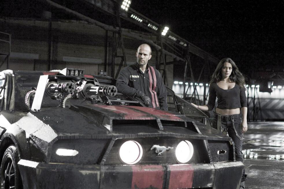 Death Race mit Jason Statham und Natalie Martinez