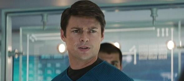 Karl Urban als Bones in Star Trek.