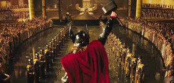 Bild zu:  Thor mit seinem Hammer