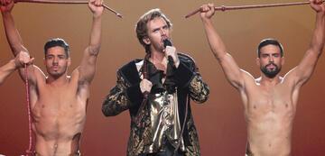 Dan Stevens in Eurovision