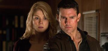 Rosamunde Pike und Tom Cruise in Jack Reacher