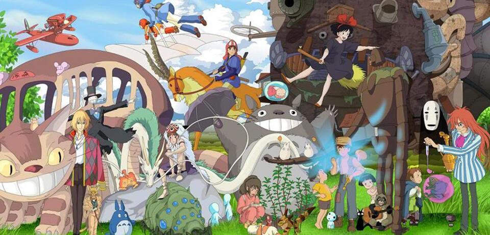 Alle Ghibli-Filme auf einen Blick