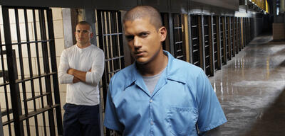 Dominic Purcell und Wentworth Miller in Prison Break