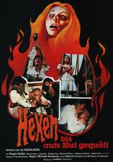 Hexen bis aufs Blut gequält - Poster