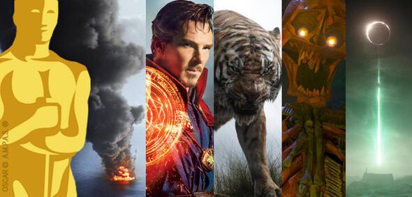 Die Nominierten für die Besten visuellen Effekte