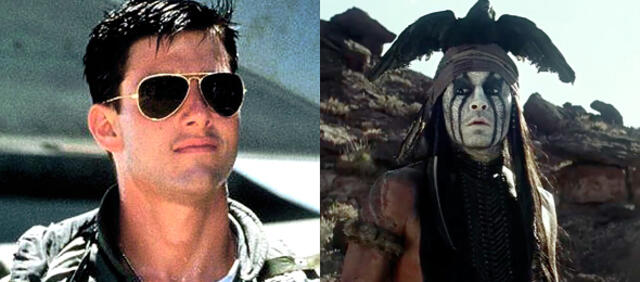 Top Gun / The Lone Ranger