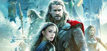 Natalie Portman in Thor 2