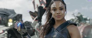 Tessa Thompson als Valkyrie in Thor 3: Tag der Entscheidung