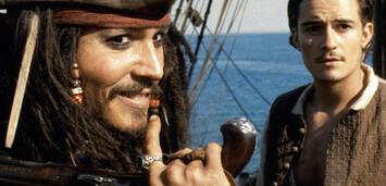 Bild zu:  Johnny Depp und Orlando Bloom in Fluch der Karibik