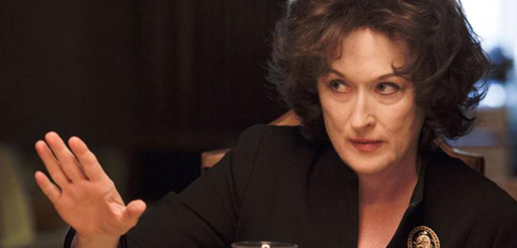 Meryl Streep in Im August in Osage County