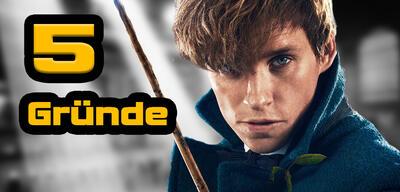 Eddie Redmayne ist Newt Scamander