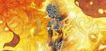 Jane/Thor steht in Flammen